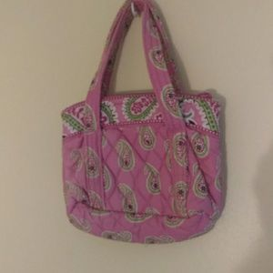 RETIRED Vera Bradley small Bermuda Pink hand bag